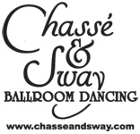Chasse and Sway Ballroom Dancing Logo